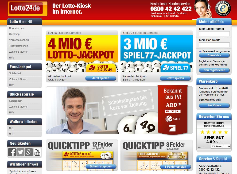 lotto24 de seriös