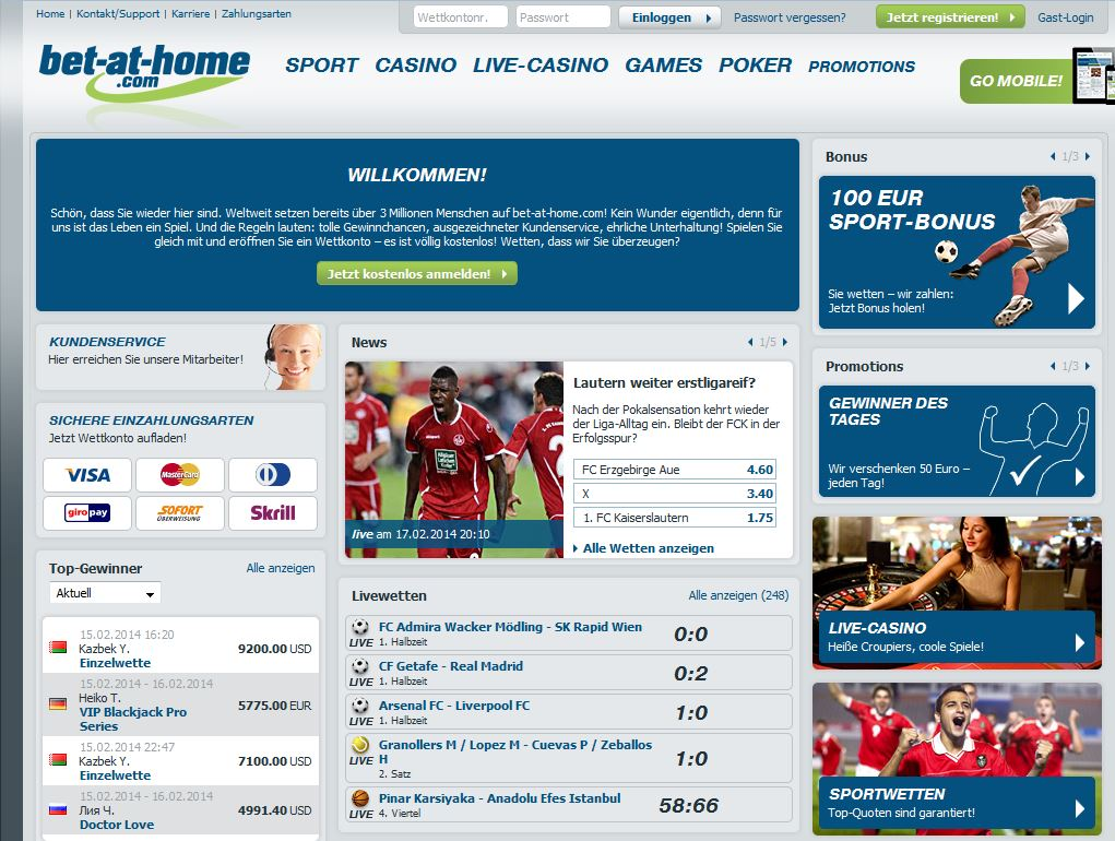 bet at home deutschland kontakt