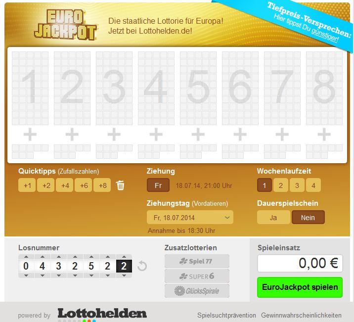 Lottozahlen Sieger Chance