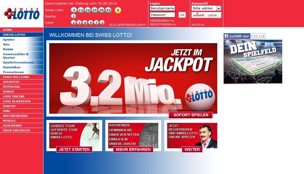 Swiss Lotto Jackpot