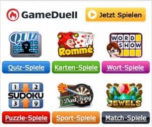 Gameduell Spiele