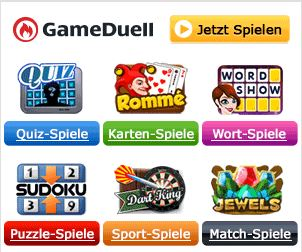 Gameduell Login