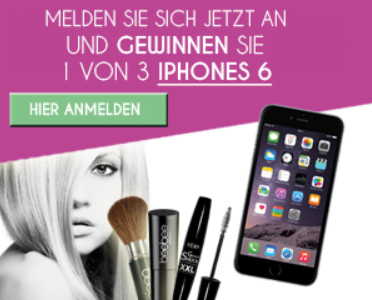 MAKE UP Aktion: 3 Monate Gratis Make-Up bekommen