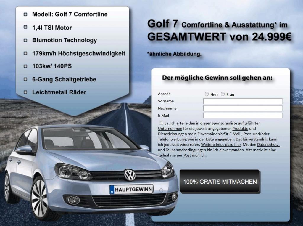 Golf 7 Gewinnen