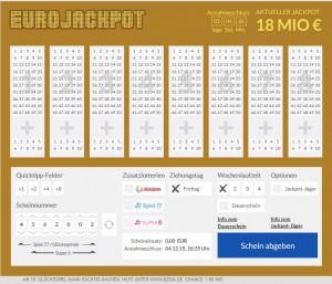 Eurojackpot System Anteile Erfahrung