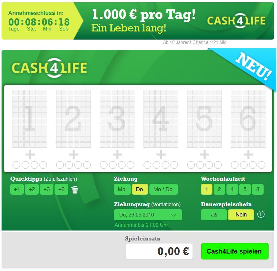 Cash4Life Erfahrungen